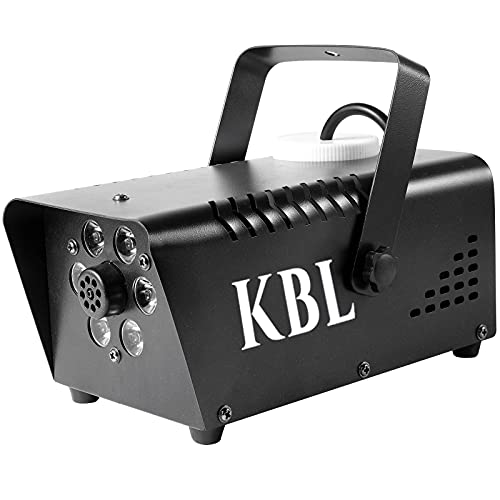 Fog Machine, KBLbfb 600W Smoke Machine with 13 Color Controllable LED Lights, 4000CFM Fog with Automatic Spray…