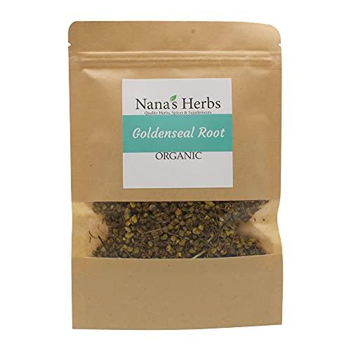 Goldenseal Root Organic Kosher - 4oz Resealable Bag