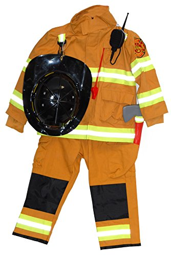 Boy's and Girl's Firefighter Costume (3-4)