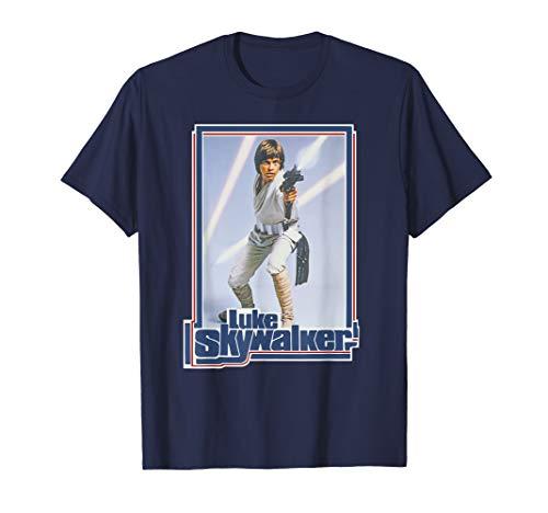Star Wars Luke Skywalker 70s Retro T-Shirt