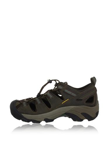 KEEN Men's Arroyo II Hiking Sandal,Slate Black/Bronze Green,8.5 M US