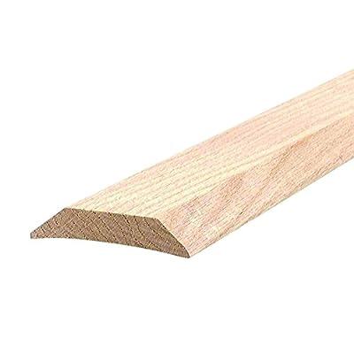 """Low 3-1/2"""" Wide Hardwood Door Threshold - #99035"""