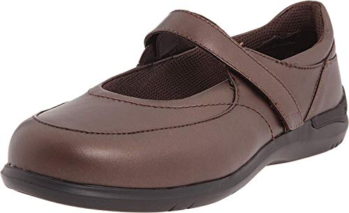 Aravon Women's Farah, Red Brown, 5 2E US
