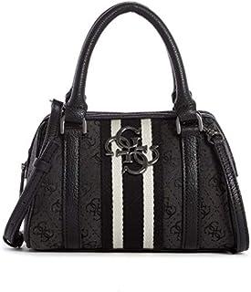 GUESS Womens Satchel Bag, Coal - SM730476