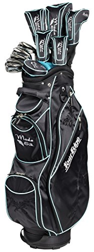 Tour Edge Women's Moda Silk Golf Complete Set (Black/Sea Green)