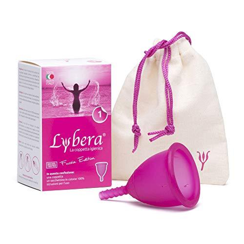 Lybera Coppetta Mestruale Made in Italy, Coppetta...