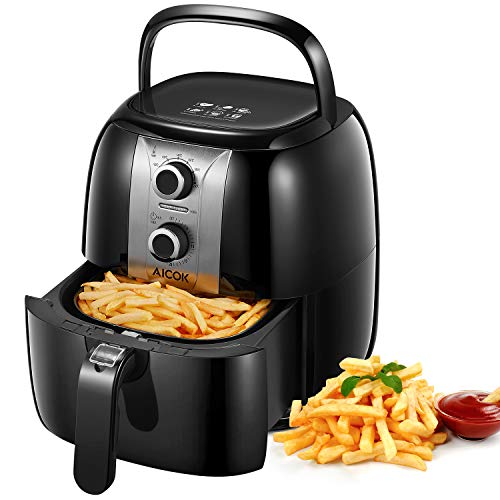 Friteuse Sans Huile Friteuse  Air Chaude 3.5L Airfryer...