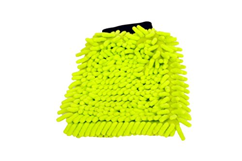 Preisvergleich Produktbild SemyTop Mikrofaser Auto und Haushalt Waschhandschuh Staubwisch Handschuh Microfiber
