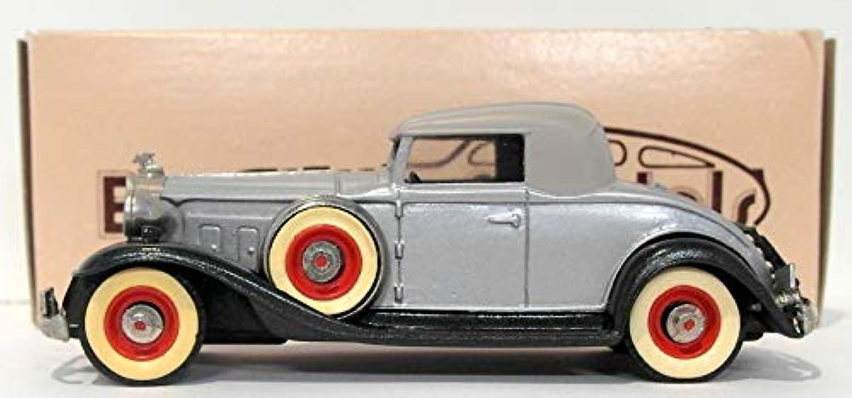 Brooklin 1 43 Scale BRK6 - 1932 Packard Light 8 Metallic Silver