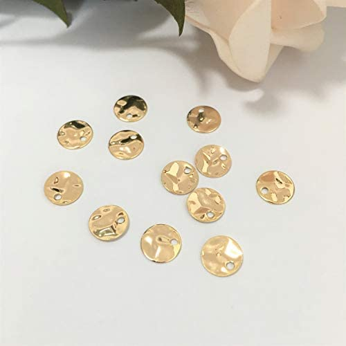Hammered Charms,1 pcs, 26x35mm Hammered Earrings Materiel Brass Pendant SYH-18 Black Plated Square Hammered Charms
