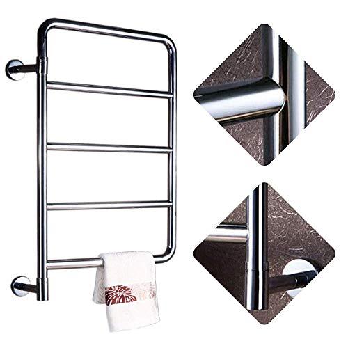 Beheizter Handtuchhalter Bad Elektrische Handtuchwärmer Wandmontage 304 Edelstahl Für Badheizkörper Home Badzubehör