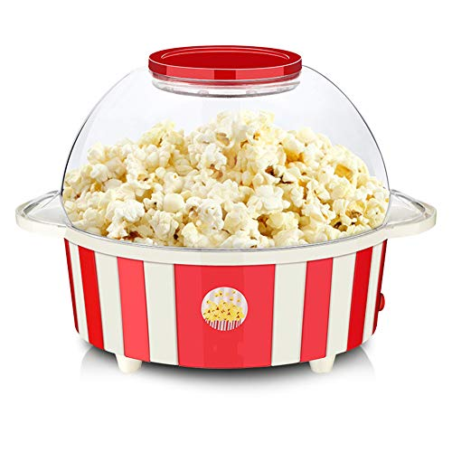 Buy ZRXRY Popcorn Maker, Electric Oil-Popped Popcorn Making Machine with Barbecue Function, 5L Large...