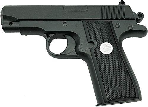 Oramics Softair Pistole – Airsoft unter 0,5 Joule – Vollmetall Mini Softair-Pistole G2 ABS – Originalgetreuer Nachbau im Maßstab 1:1,8, Kaliber: 6mm