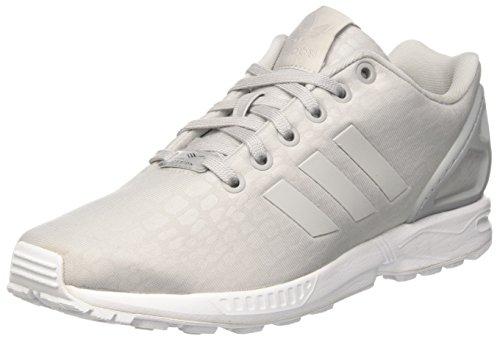 adidas ZX Flux W, Zapatillas para Mujer, Gris (Grey Two/Grey Two/Footwear White), 37 1/3 EU
