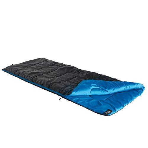 High Peak Deckenschlafsack Ceduna, 2-3 Jahreszeiten, Temperatur 3°C, warm, inkl. Packsack, Camping, Festival, Caravan, atmungsaktiv, umweltfreundlich, wasserabweisend, PFC-frei, 200x80cm, 1400g