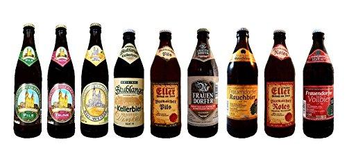Fränkisches Bierset mit 9 erlesenen Bieren aus Oberfranken Bierpaket fränkisches Bier