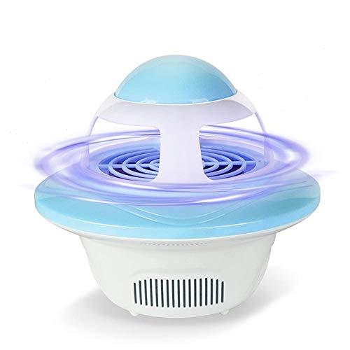 Trampa para insectos LED electrónica - USB en polvo para interiores y exteriores, para insectos, insectos, insectos, atrapasueños, para casa, dormitorio, cocina, jardín, azul, talla única