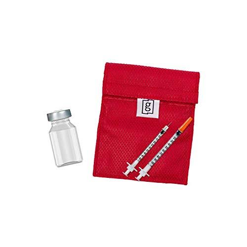 Glucology™ Insulin-Kühltasche, kein Kühlakku oder Batterien nötig, neue innovative Technologie, perfekt für Reisen, mittlere Vial-Tasche