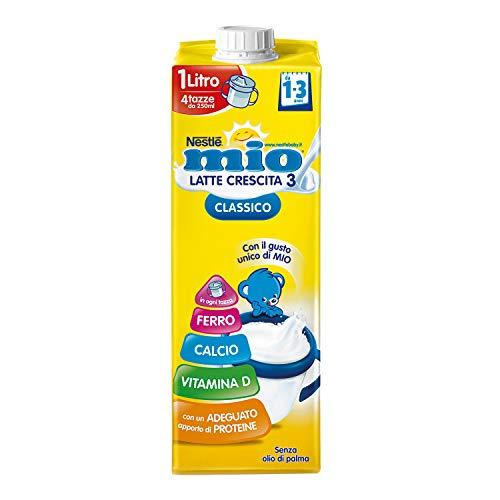 Nestlé Latte Mio Classico Latte di Crescita da 1 Anno, 8 Brick da 1 L
