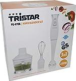 Tristar PD-8708 - Juego de batidoras Blanco