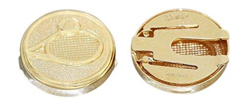 Boutons de manchette en or 750/18 carats pour homme Hobra-or