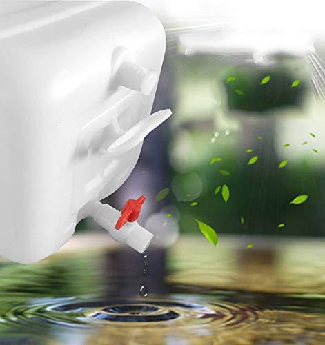 Contenedor De Agua 60L Cubo De Agua Para El Agua De Almacenamiento Doméstico Bidón Plástico Con Grifo Al Aire Libre Plástico De Grado Alimenticio Contenedor De Agua Cámping Depósito De Agua Cubo De La