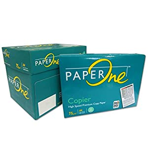 versando PaperONE – Papel para impresión 2500 Folios DIN A4 Papel de Marca Color Blanco para FOTOCOPIADORAS, IMPRESORAS…