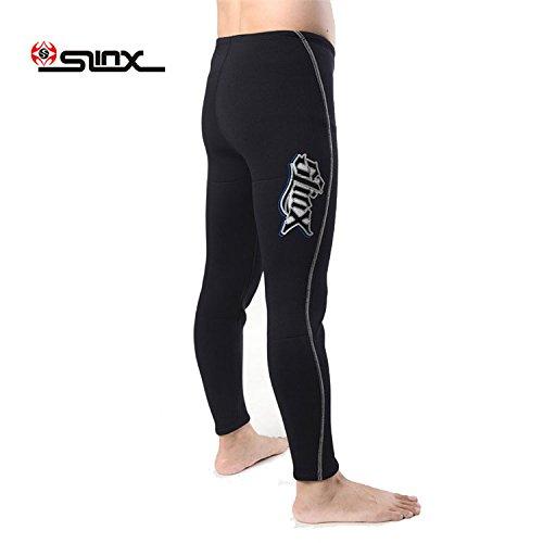 PAWHITS 3MM Unisex Neopren Thermal Diving Neoprenanzug Hose für Herren Damen Schnorcheln Scuba Surf Kanu Tauchen Hosen Neoprene Pants