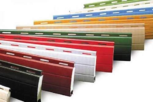 AWITALIA - Tapparella in alluminio su misura avvolgibile tapparelle in alluminio coibentato su misure personalizzate senza supplemento(made in Italy) vari colori, dimensioni 100x170 (larg. x alt.)
