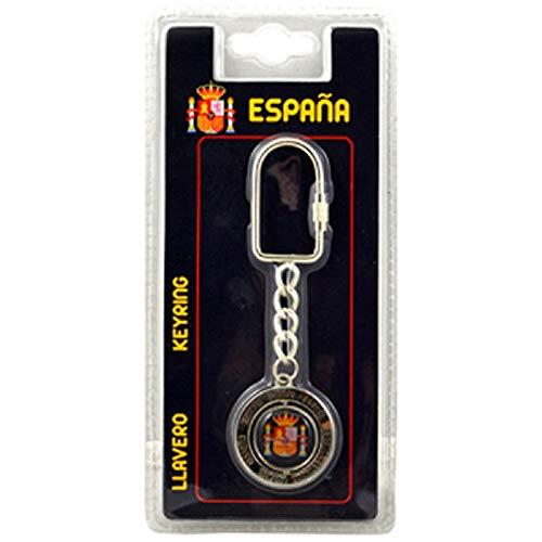 Espana Futbol España Fútbol Equipo Spinner Escudo Llavero
