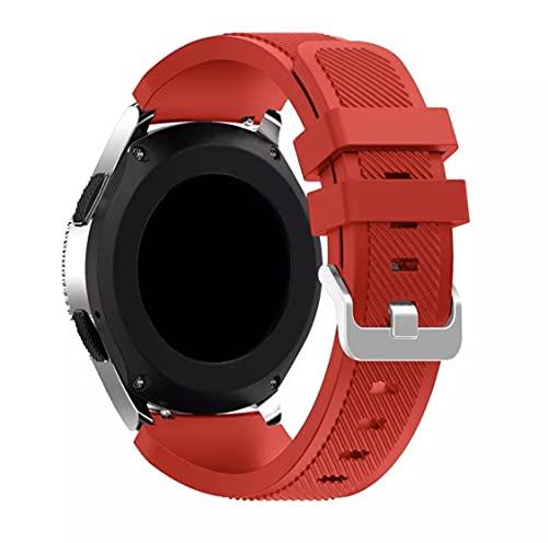 Junior one grocery Cinturino in Silicone 22mm 20mm per Galaxy Watch 46mm 42mm Cinturino Sportivo per Samsung Gear S3 Frontier/Classic Active 2 Huawei Watch 2 Colori 12, per Huawei GT 2 46mm