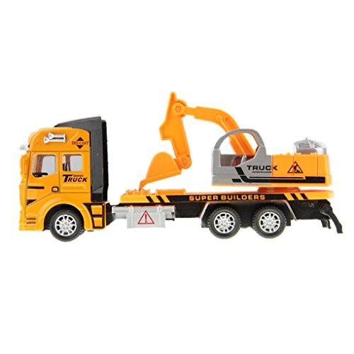 BXT® 1:48 Jouet Voiture Camion pour Enfants Véhicule Construction Toy Pelle Modèle de Voiture en Alliage Echelle