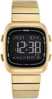 FOSSIL[フォッシル] fs5449 RUTHERFORD ゴールド ステンレス デジタル メンズ 腕時計 [並行輸入品]