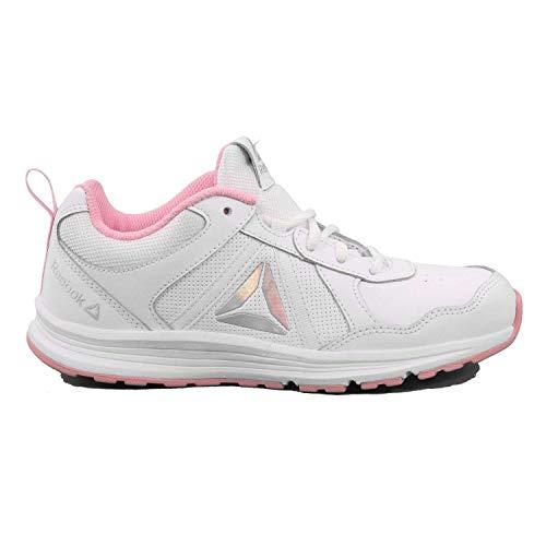 reebok Sport Reebok Almotio 4.0 sneaker meisjes wit / roze sneaker bas