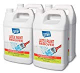 Motsenbocker's Lift Off 41401-4PK 128-Ounce Latex Paint Remover Spray is Environmentally Friendly Safely Removes Latex Paint and Enamel and Works on Multiple Surfaces Water-Based and Biodegradable