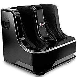 Dr Physio Powerful Electric Leg, Foot and Calf Massager Machine with Vibration for Pain Relief & Relaxation