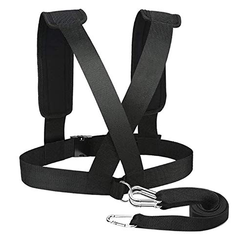 Sled Harness Tire Pulling Harness Pull Strap for Fitness Resistance Training Speed Harness Trainer Football Workout Equipment