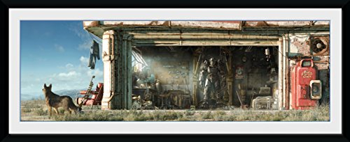 GBeye Collector Print - Fallout Garage 75 x 44 x 3 cm, Mehrfarbig, PFD273