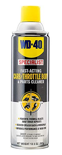 WD-40 Specialist Carb/Throttle Cleaner, Fast-Acting Parts Cleaner, 13.5 OZ