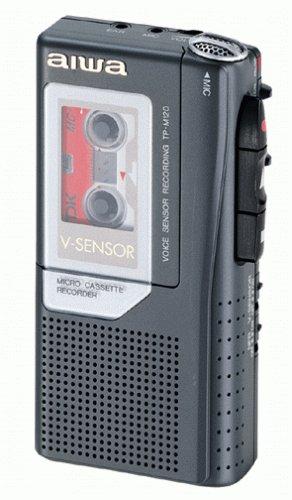 Portable Microcassette Recorders