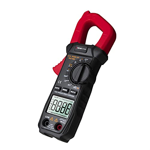 NINGXUE-MAOY Multímetro ST209 DC/CA CURTURAL Meter Digital Meter 6000 Cuentos Multímetro Ammeter Tester Tester Capacitance NCV Ohm HZ Tester Herramientas eléctricas (Color : Red)