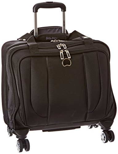 DELSEY Paris Helium Cruise Spinner Trolley Tote, Black, One Size