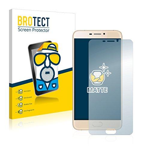 BROTECT 2X Entspiegelungs-Schutzfolie kompatibel mit Ulefone Gemini Bildschirmschutz-Folie Matt, Anti-Reflex, Anti-Fingerprint