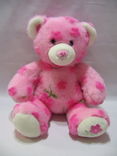 Build A Bear Teddy Spring Season Of Hugs Rosa Flowers 14 Soft Plush BABW by Build A Bear