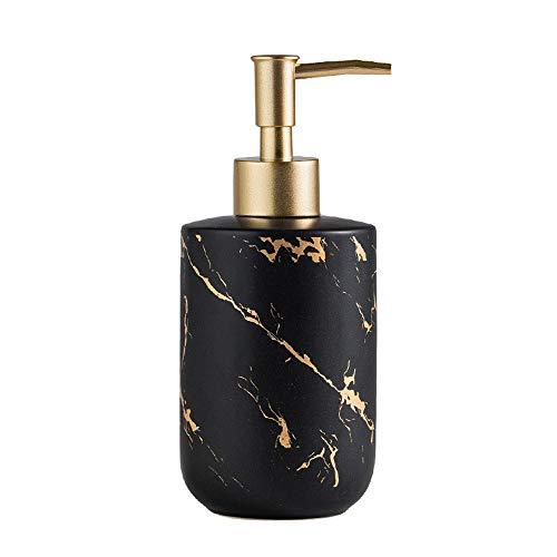 Kaimeilai Flacone di disinfettante per Le Mani, Dispenser di Sapone in Ceramica per Bagno, Dispenser di Sapone per Piatti, Dispenser di lozione Flacone Vuoto per detersivo per lozione Shampoo