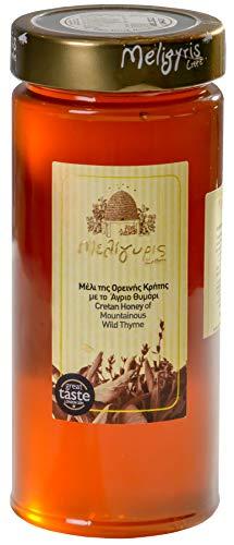 Griechischer Honig aus kretischem Thymian von Meligyris | Reiner unvermischter kretischer Honig (800)