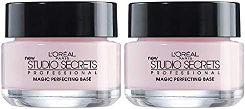 L'Oreal Paris Magic Perfecting Base Face Primer, Instantly Smoothes Lines, Mattifies Skin and Hides Pores, Suitable for All Skin Types, 2 Count