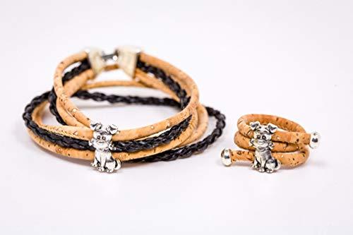Syloschmuck ★ Wickelarmband ★ Armband★ Schmuckset★ Ring ★ Hund ★ Weihnachtsgeschenk★ Handmade