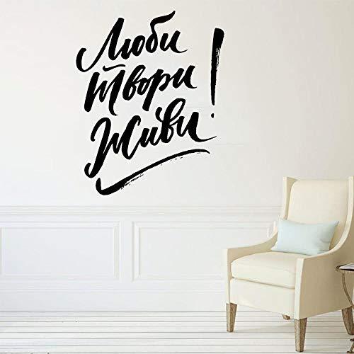 Decoración para el hogar inspiración amor cita arte impresión cartel cuadro de pared amor lienzo cartel pared pegatina A1 42x51cm