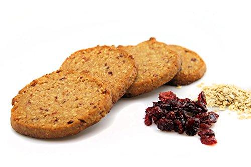 Bio Hafercranberrycookie 10 Stück | Dinkelcookie weizenfrei laktosefrei | leckerer Cookie vom Handwerksbäcker